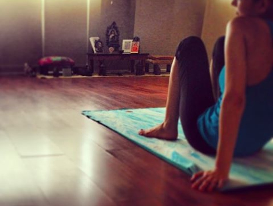 Sweat It Out With Hot Yoga
