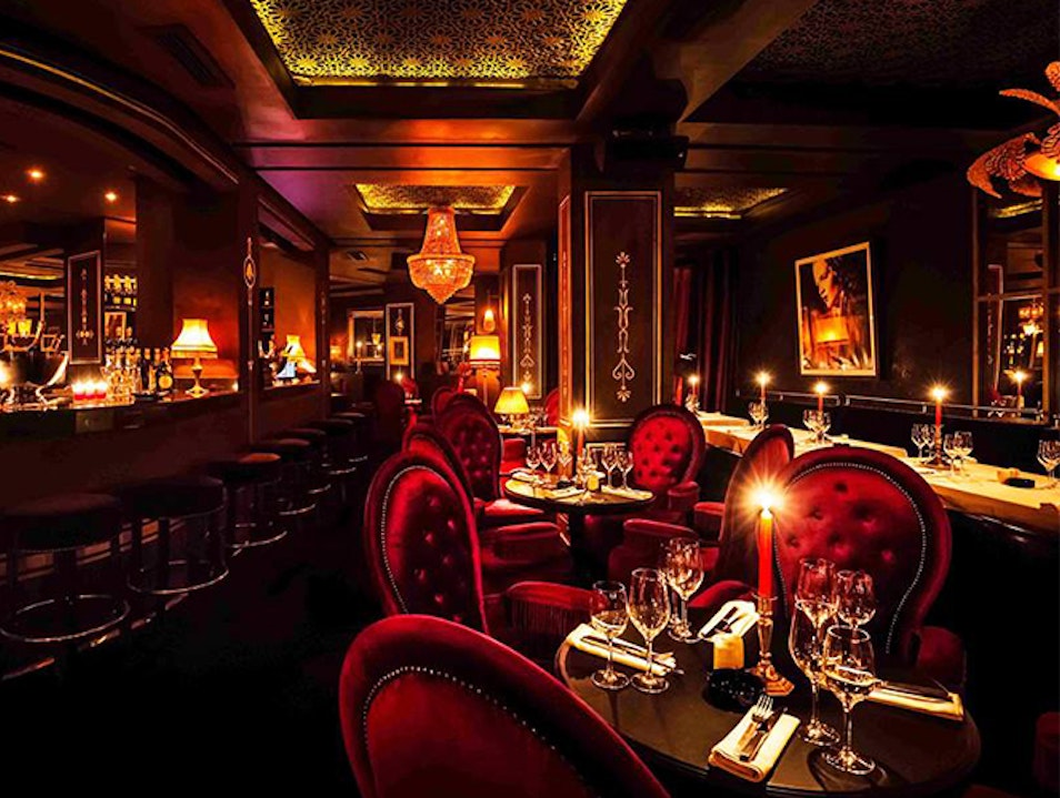 Glamorous Resto-Club for Urban Sophisticates Marrakech  Morocco