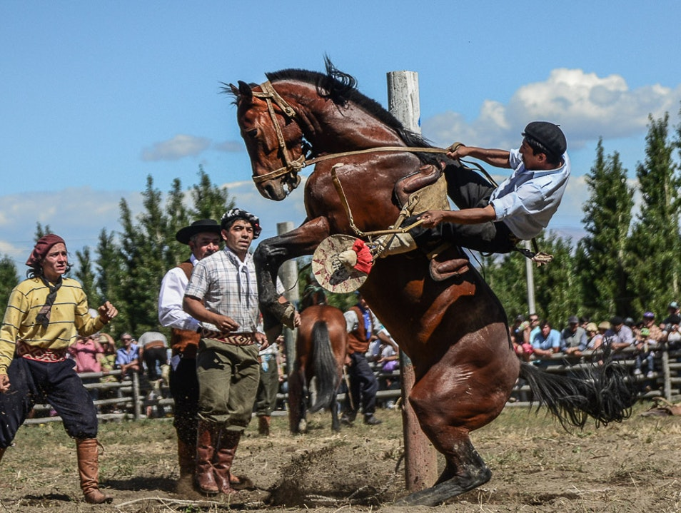 Extreme Sport in a Culture  Coyhaique  Chile
