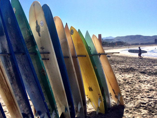 Learn to Surf in Todos Santos