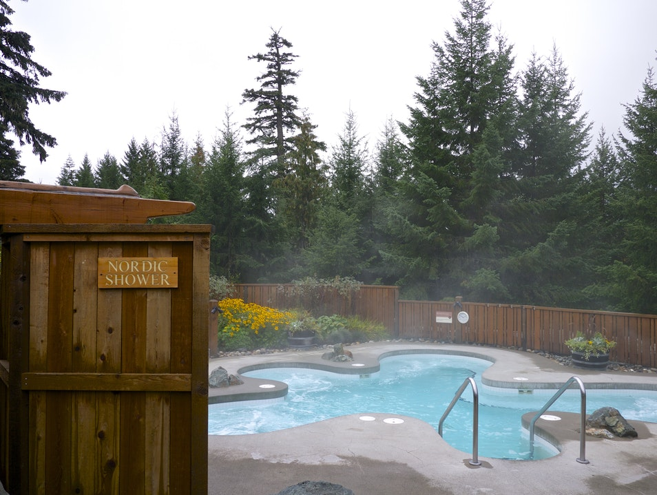 Scandinave Spa Whistler: Heaven Must Be Built Like This