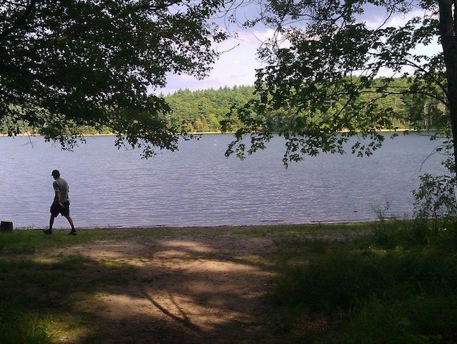 Have a Dip in Walden Pond