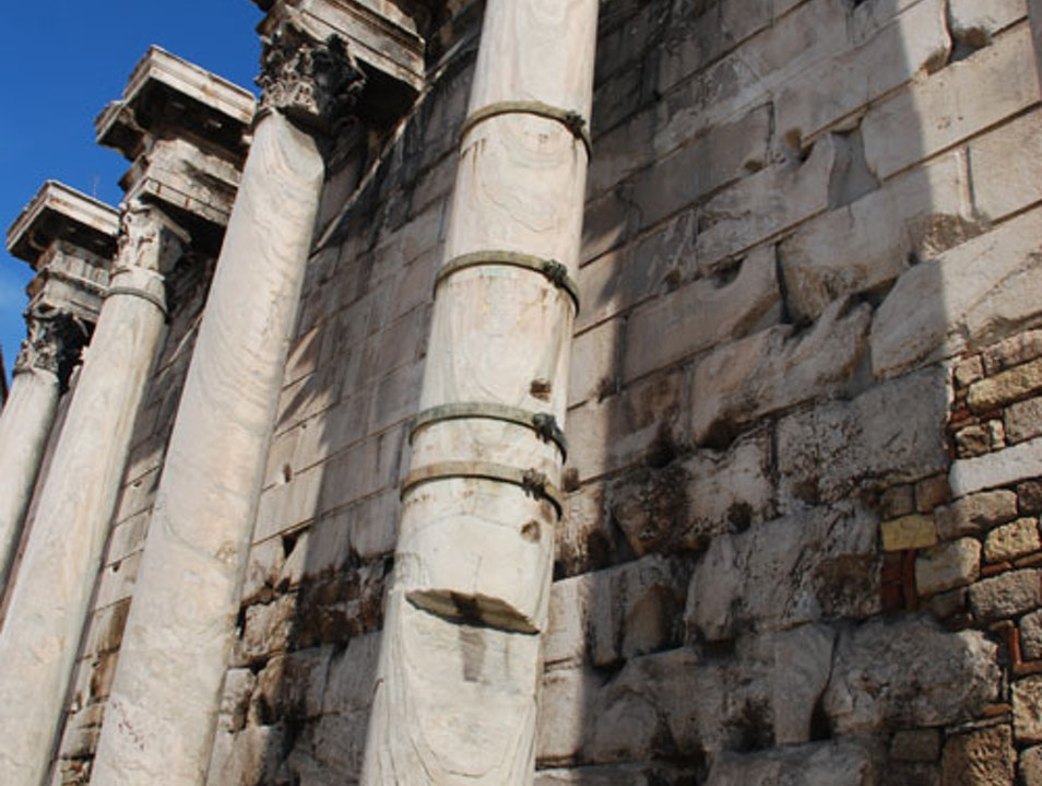 Athens Tips Part 22 - Hadrian's Library Athens  Greece