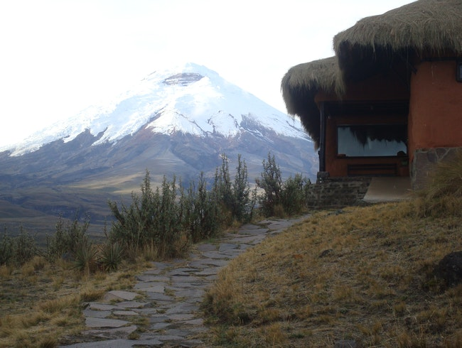 Summiting Cotopaxi