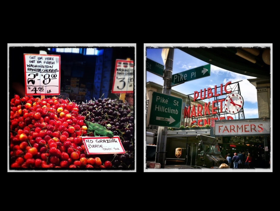 Taste the summer in Seattle: Rainier cherries Seattle Washington United States
