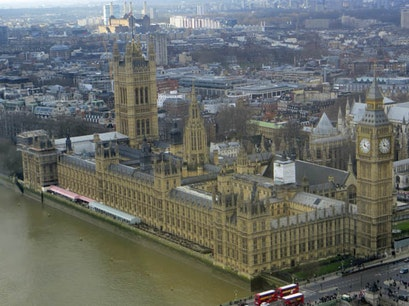 Palace of Westminster / Houses of Parliament London  United Kingdom