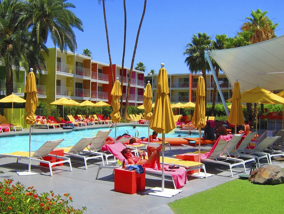 Hanging Poolside at The Saguaro Palm Springs