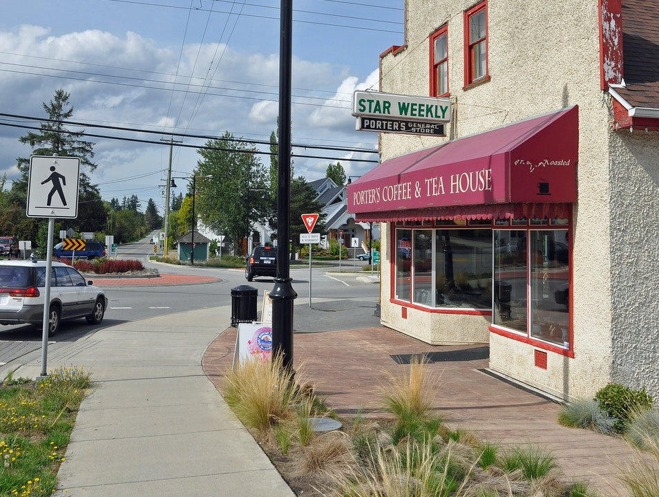 History, art... and coffee klatches Langley  Canada