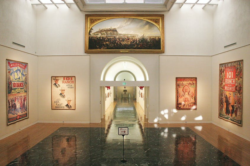 The Gilcrease Museum has one of the most comprehensive collections about the history of North America.