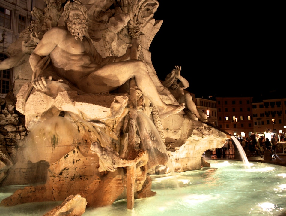Midnight Strolls in Rome  Rome  Italy