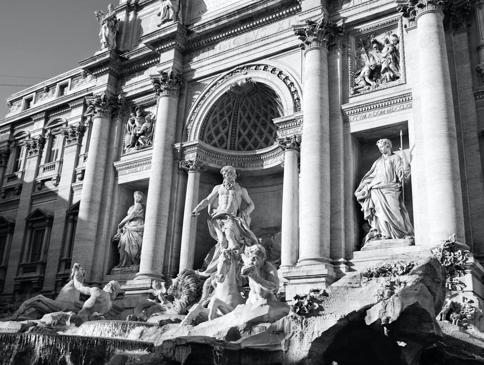 The Fountain at The Junction Rome  Italy