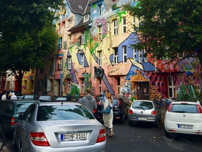 Street 'Museum' of Art - amazing painted houses