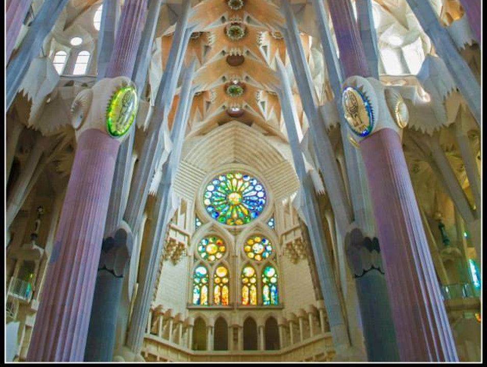 An architectural masterpiece  Barcelona  Spain