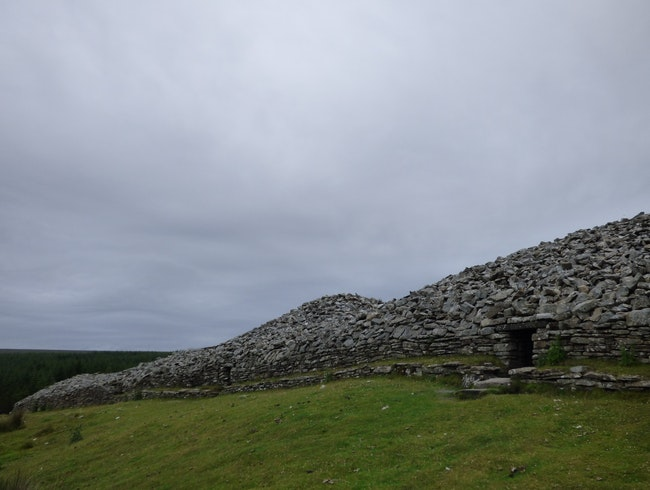 Camster Cairns - the oldest stone monuments in Scotland?
