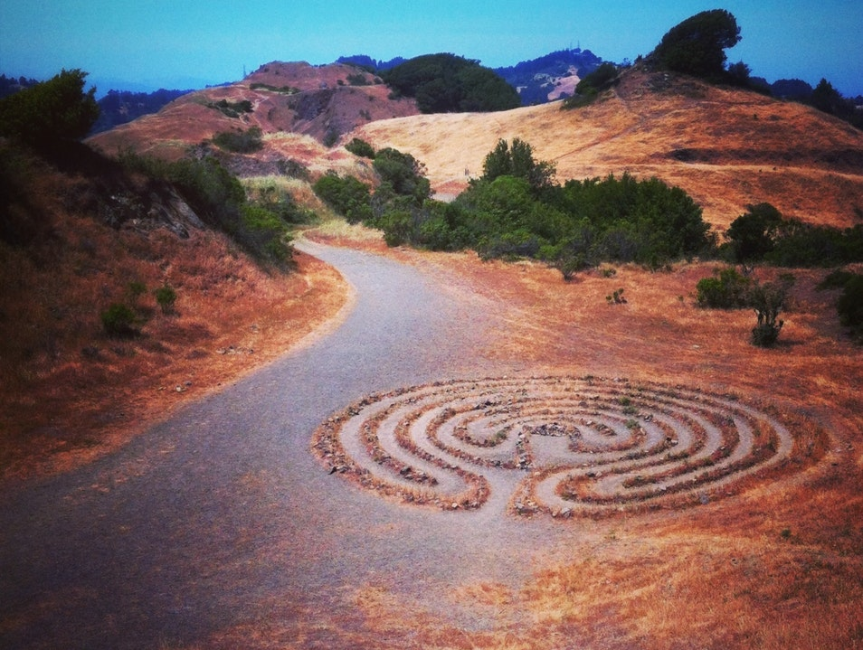 Labyrinths in the East Bay Oakland California United States