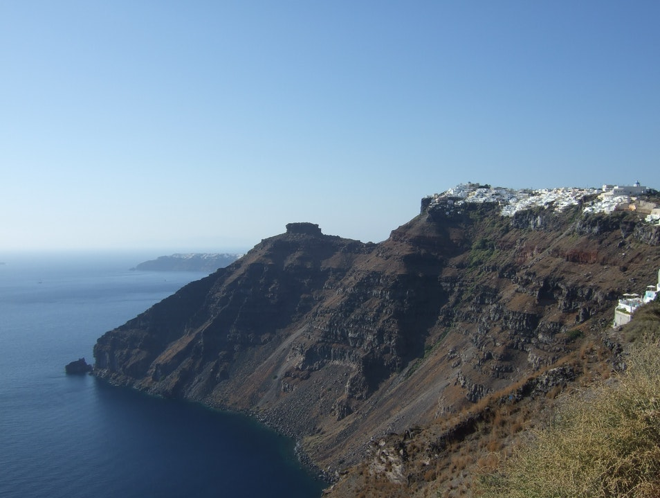 The Caldera of Santorini, Greece Imerovigli  Greece