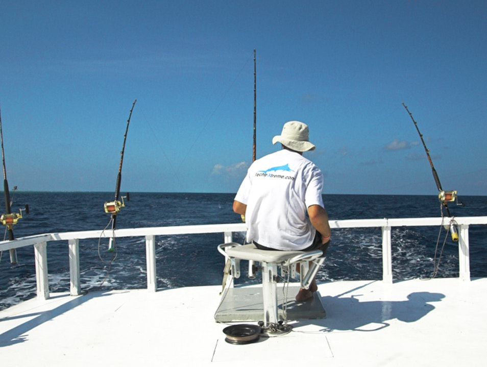 Game Fishing in the Maldives South Malé Atoll  Maldives