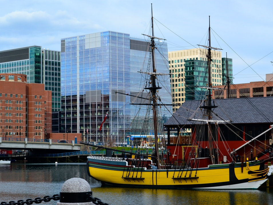 All Aboard the Boston Tea Party Museum Boston Massachusetts United States