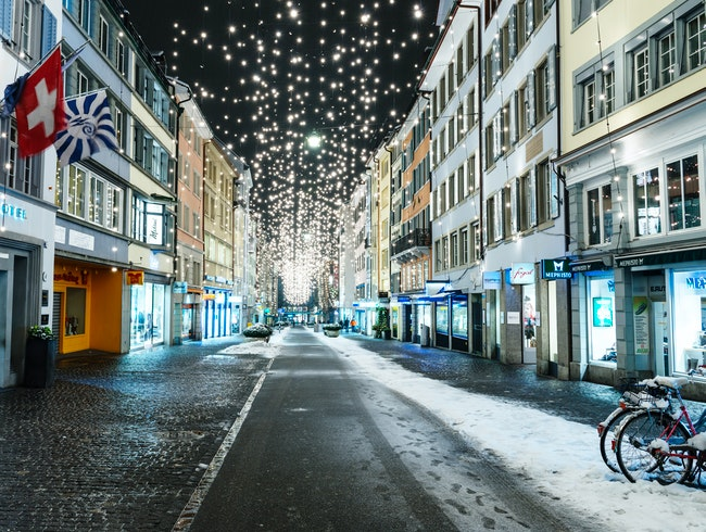 Zurich's Original Shopping Street
