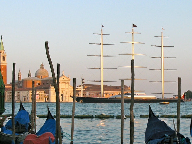 Maltese Falcon in Venice