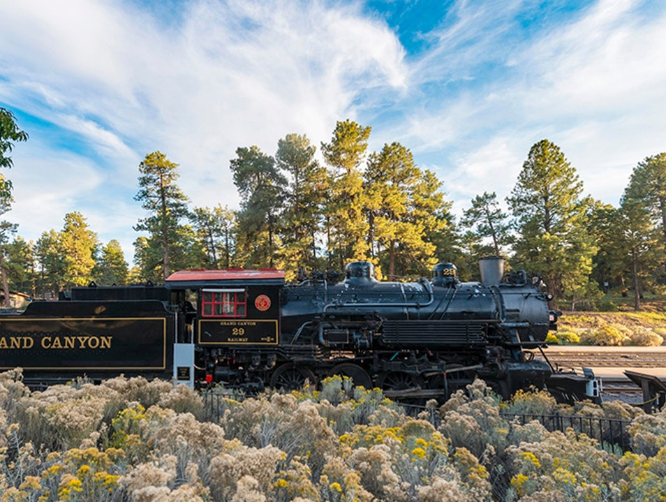 Ride the Rails into History Grand Canyon Village Arizona United States