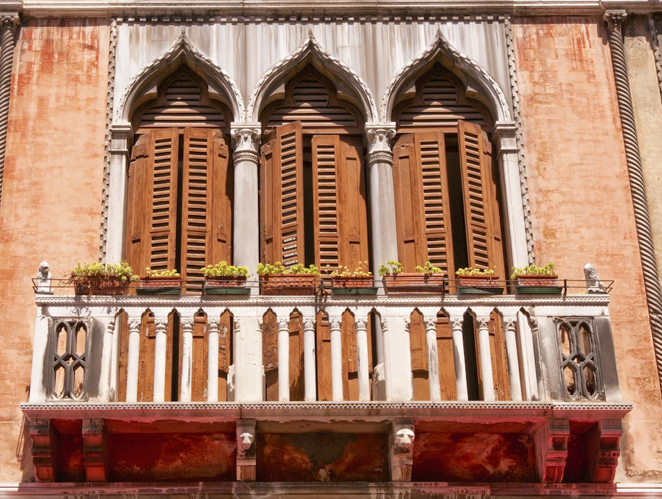 If Doors and Windows Could Talk... Venice  Italy