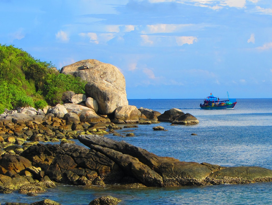 Great place for snorkeling/diving off the coast of Central Vietnam Hội An  Vietnam