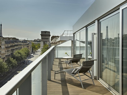 A Contemporary Hotel Statement Paris  France