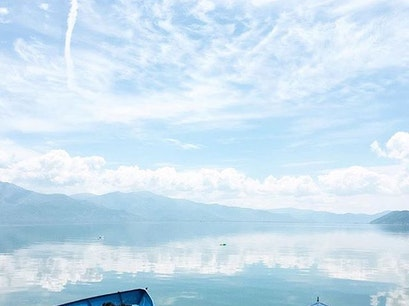 Lake Prespa Agios Germanos  Greece