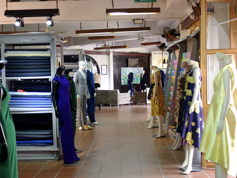 get clothes tailored at yaly couture  Hội An  Vietnam