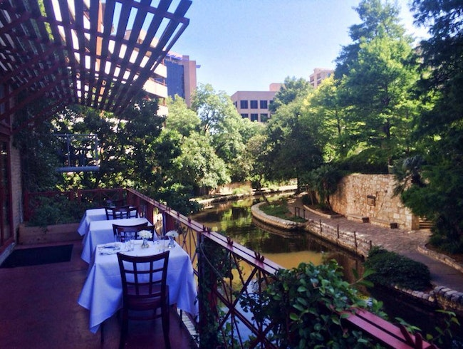 Dine Over a Cozy Stretch of San Antonio's Riverwalk
