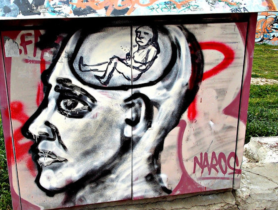 """Mind"" the Graffiti Madrid  Spain"