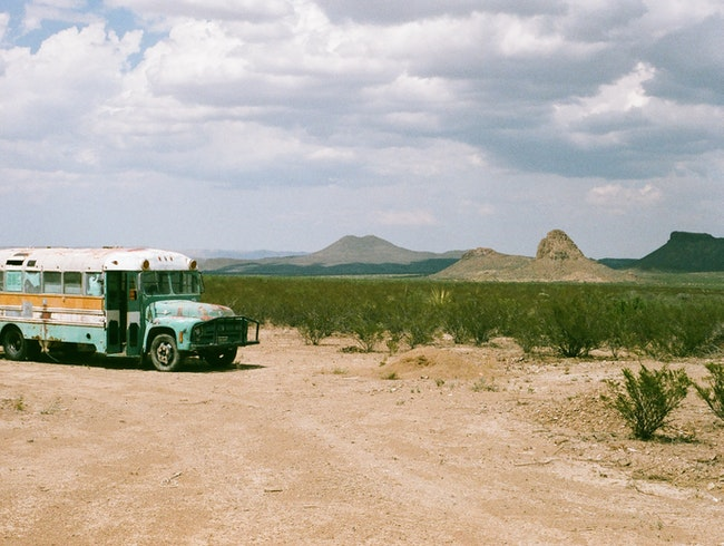 Alt-Camping in Terlingua Texas