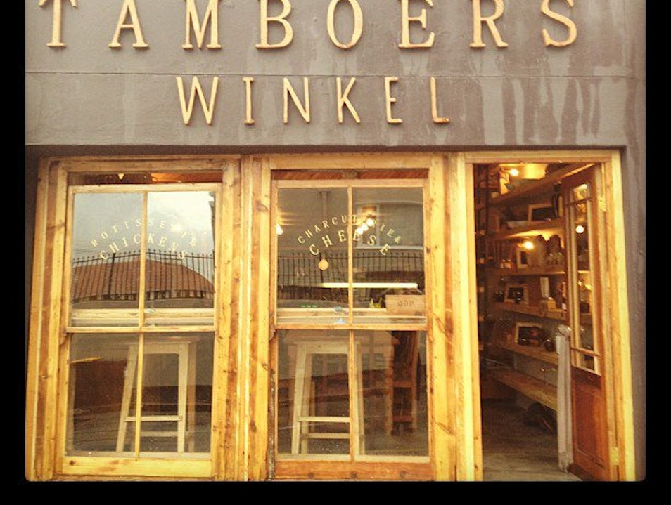 Cozy Dining at Tamboers Winkel Cape Town  South Africa