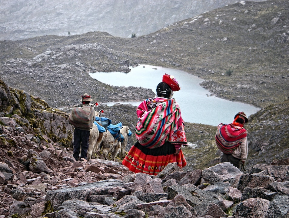 An Inca road less traveled