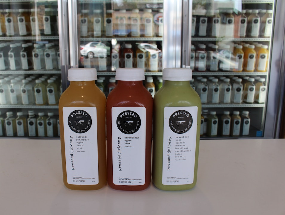 Quench Your Craving at Pressed Juicery  Manhattan Beach California United States