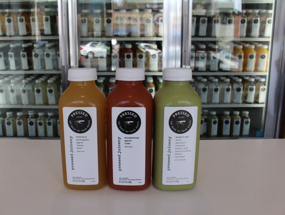 Quench Your Craving at Pressed Juicery