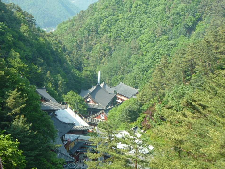 Guinsa: The right mix of spirit and nature Danyang-gun  South Korea