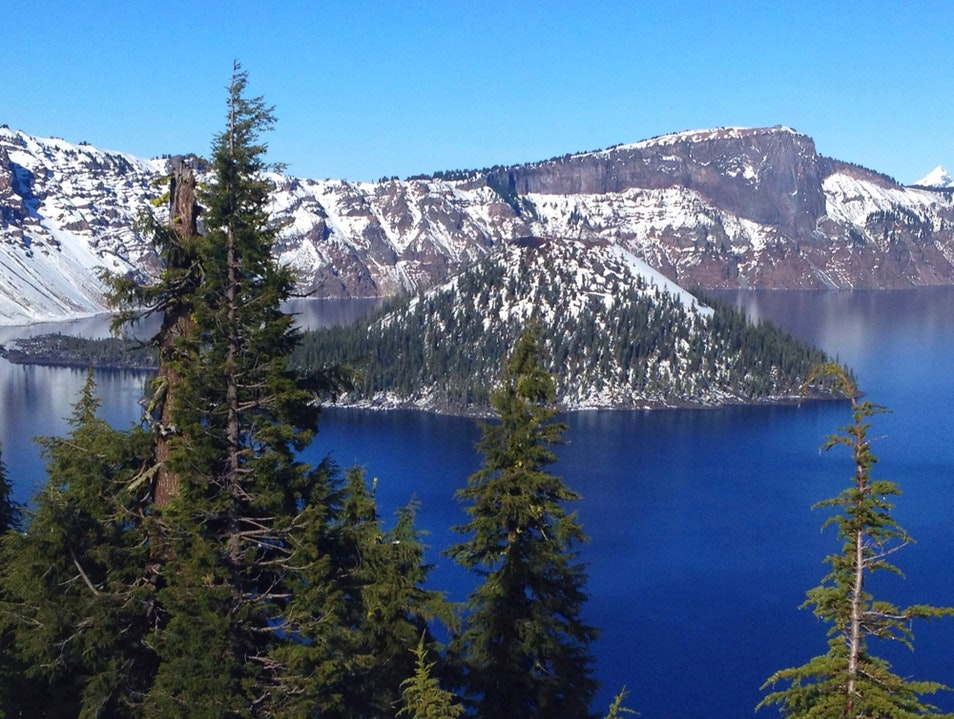 Crater Lake in November