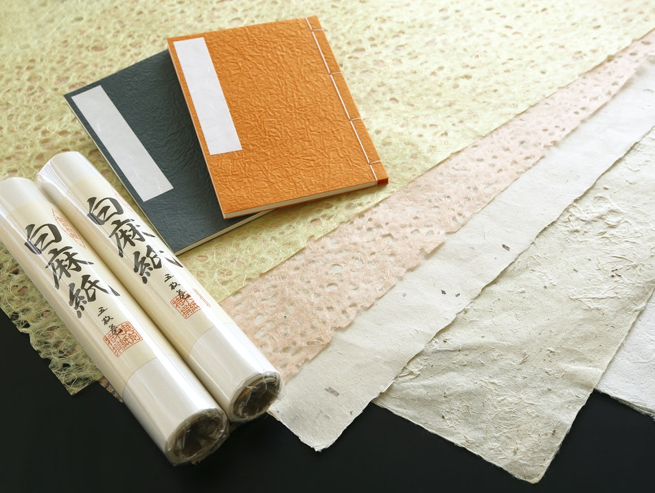 Echizen-Washi Papermaking Echizen  Japan