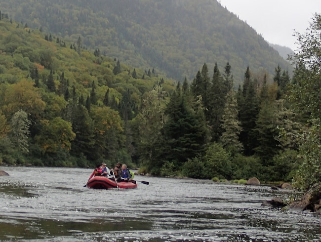 Taking the Plunge - Whitewater Rafting in Quebec