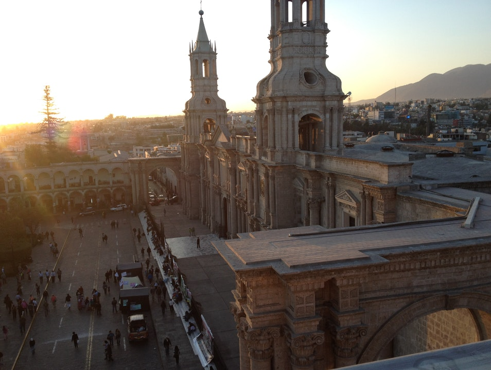 The Best View in Arequipa Arequipa  Peru