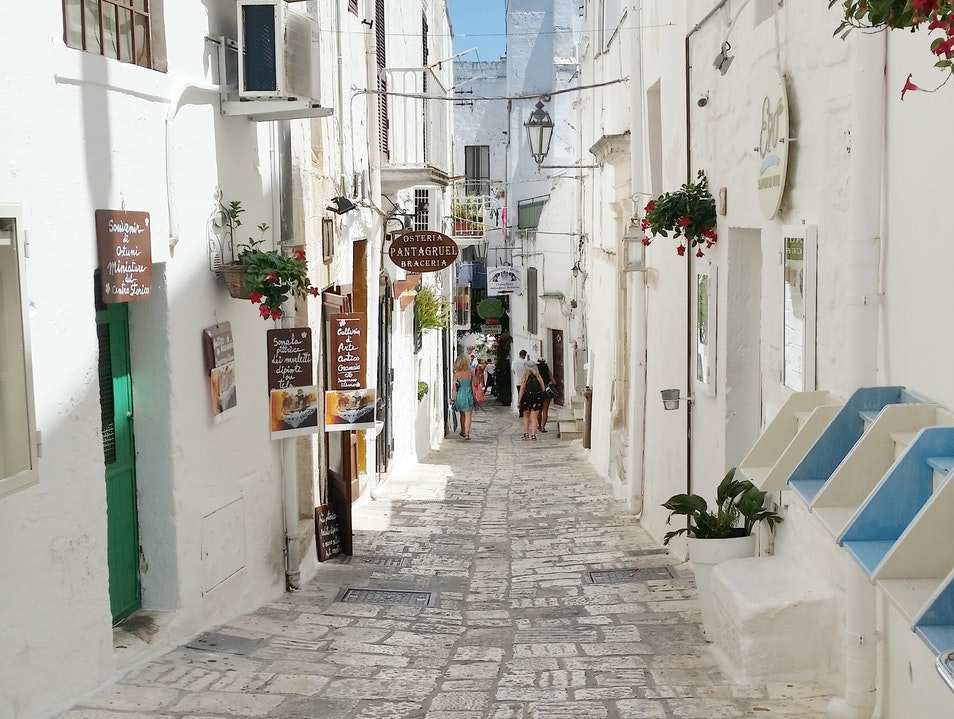 Whitewashed Towns of Puglia Ostuni  Italy