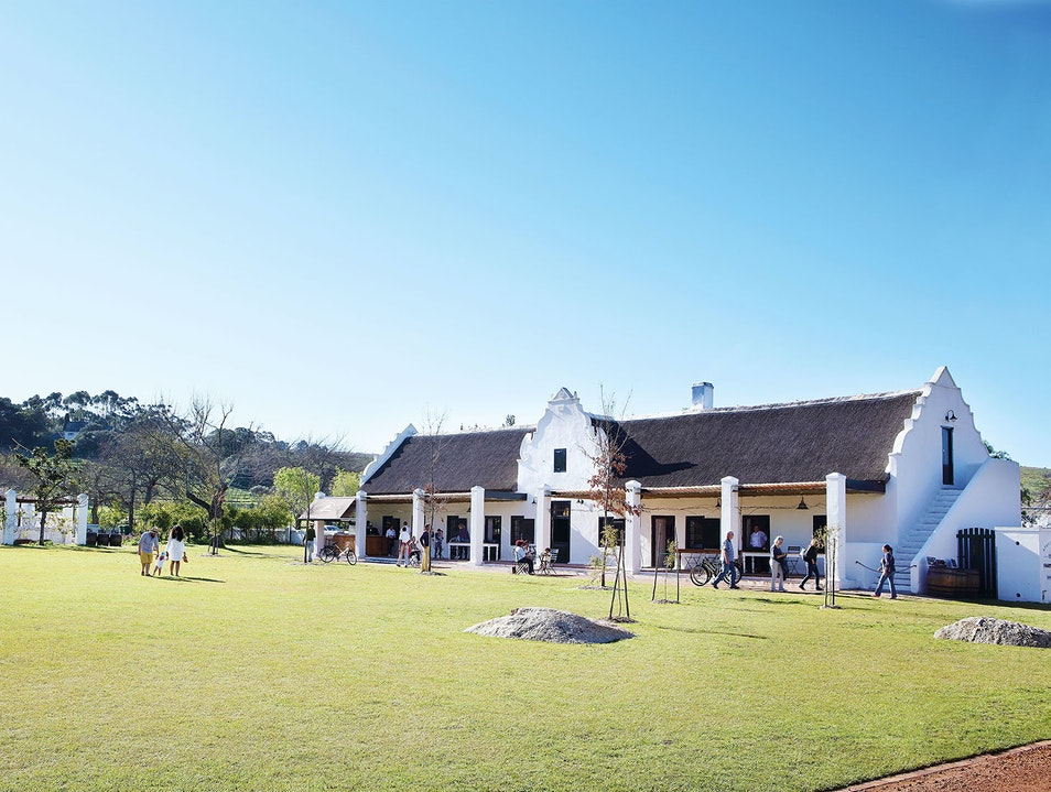 Spier Wine Farm Stellenbosch  South Africa