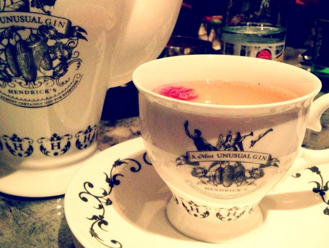 High Tea with a Gin Punch