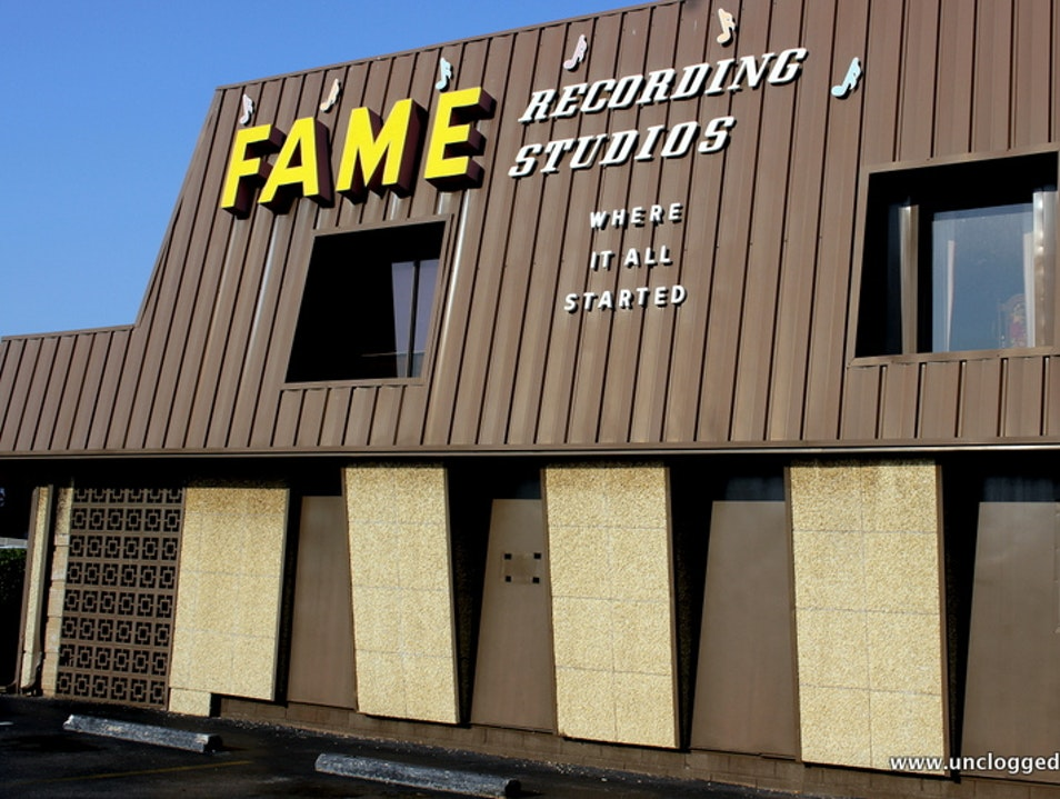 Welcome to the Birthplace of Funky Soul Muscle Shoals Alabama United States