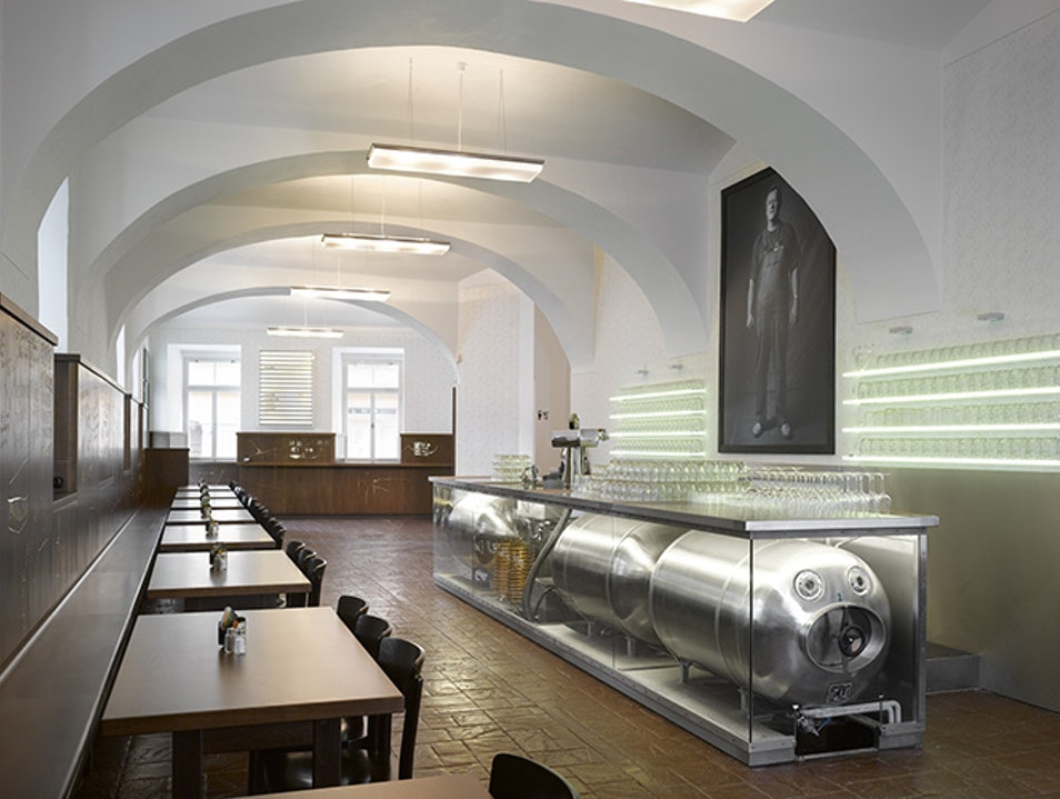 A Model of Modern Pub in Prague Prague  Czechia
