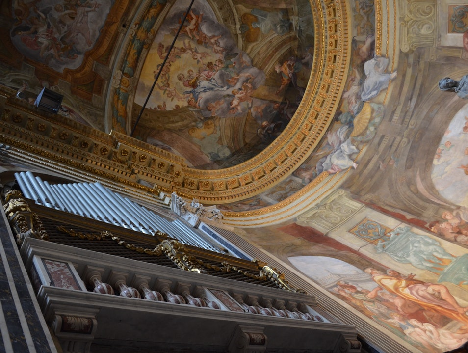 Visit for the beautiful organ music Genova  Italy