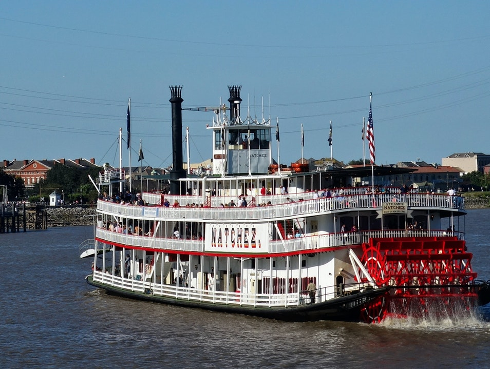 Cruise the Mississippi on an authentic steamboat New Orleans Louisiana United States