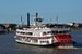 Cruise the Mississippi on an authentic steamboat
